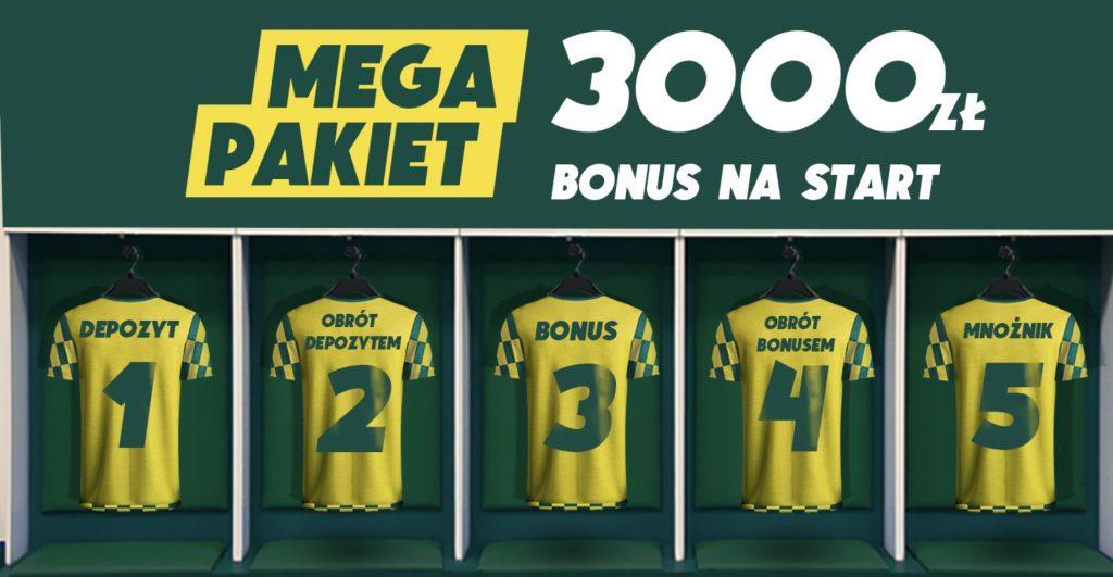 Betfan premia na powitanie. 3000 zł dla każdego nowego gracza!