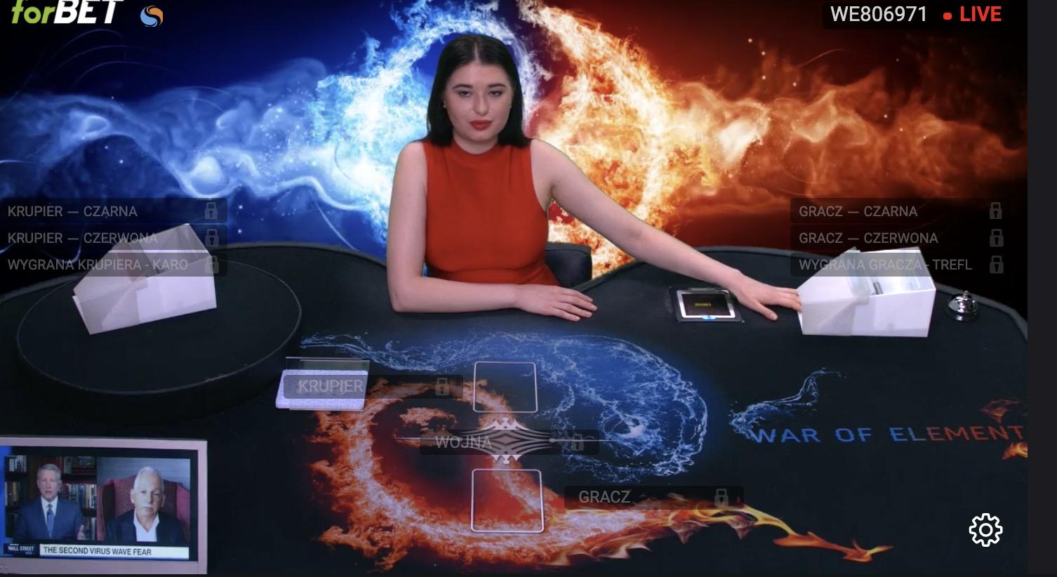 Legalny Poker w Forbet. TvBET to także Blackjack oraz Wojna!